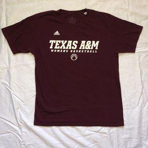 Adidas Texas A&M Women's Basketball T-Shirt
